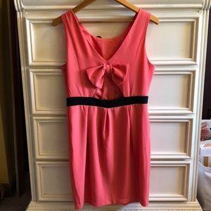 Open back bow dress 🎀